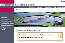Bayerisches Klärschlammnetz